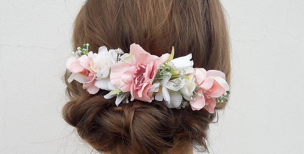 Květinový hřebínek do vlasů - dvojitý