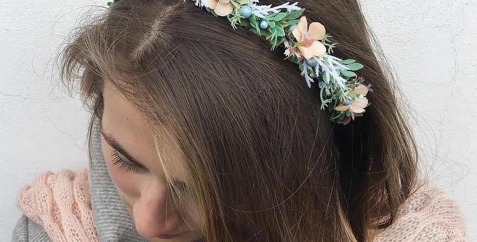 Plesová čelenka - meruňková