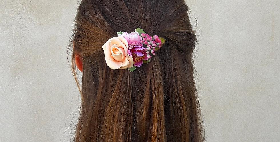 Květinová spona - květinka