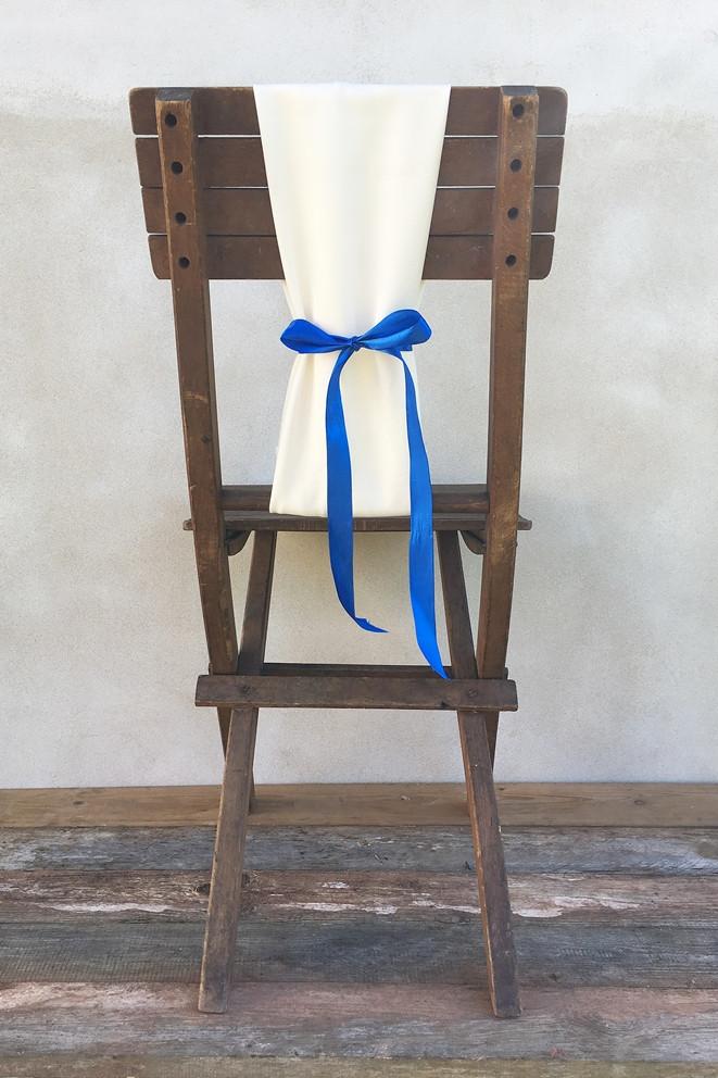 židle na svatbu