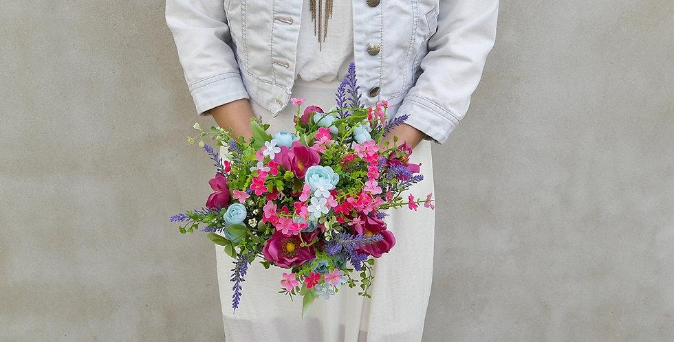Svatební kytice - luční