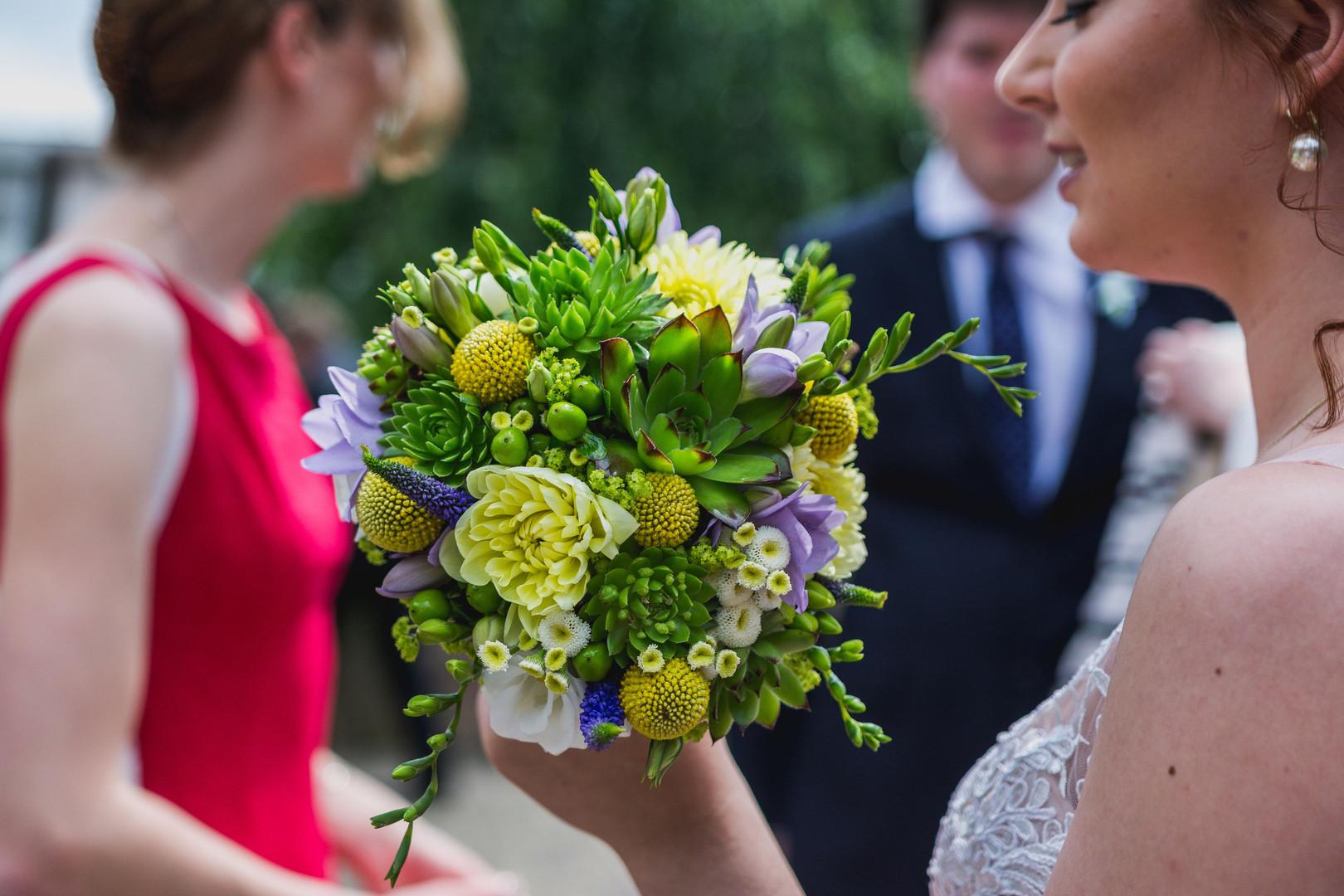 Svatební kytice Vene Bene