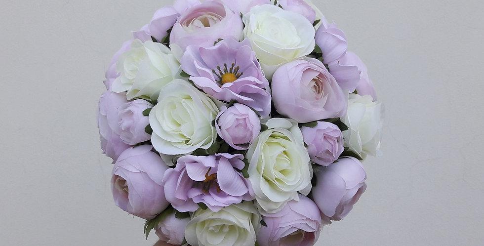 Svatební kytice - fialová