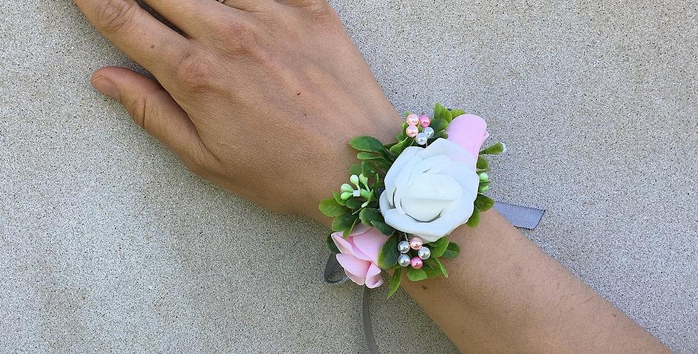 Svatební náramek - bílý
