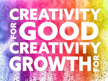 Creativity For Good | Creativity For Growth