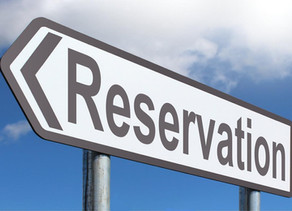 Reservations: A curse or privilege