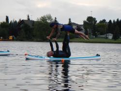 Acro Yoga Floating Fun