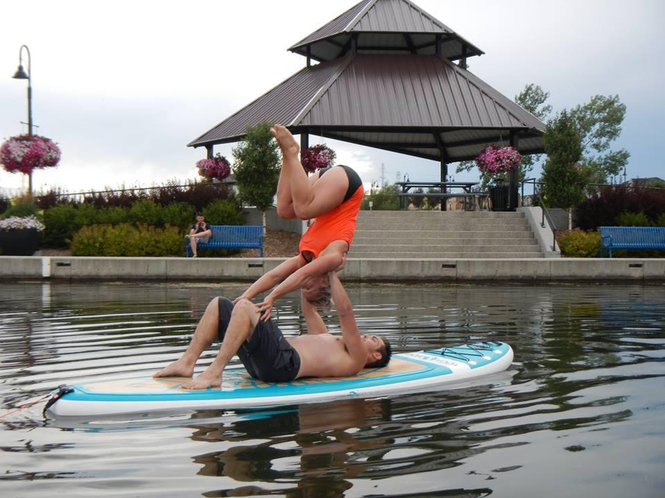 Floating Acro Yoga