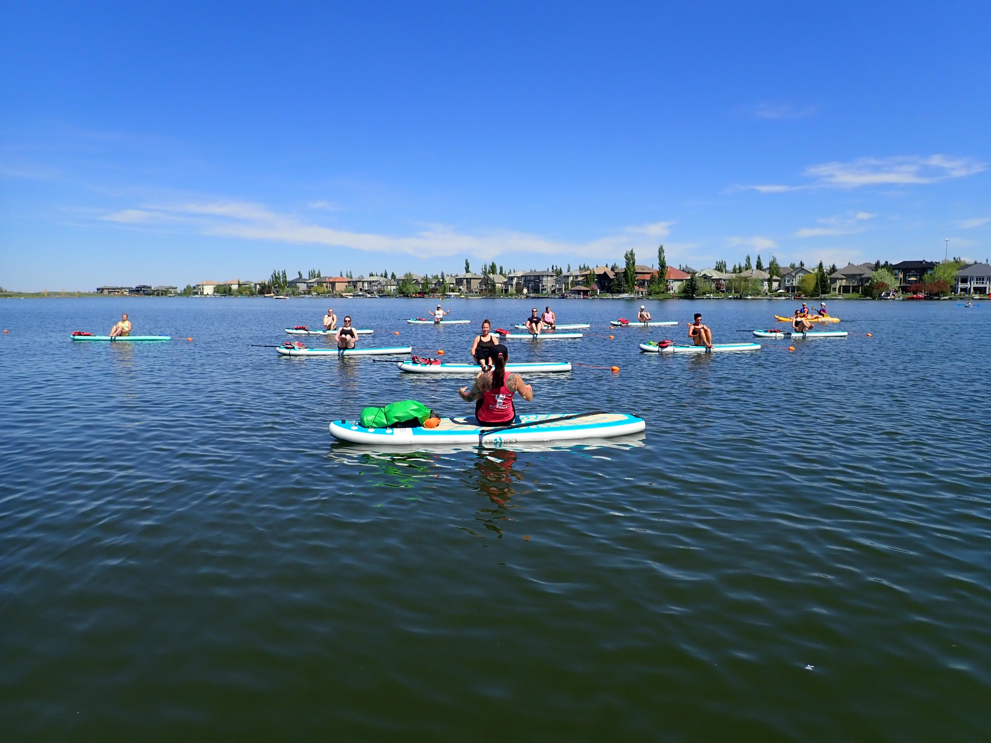 Float your Yoga with Wild Spirit SUP Yog