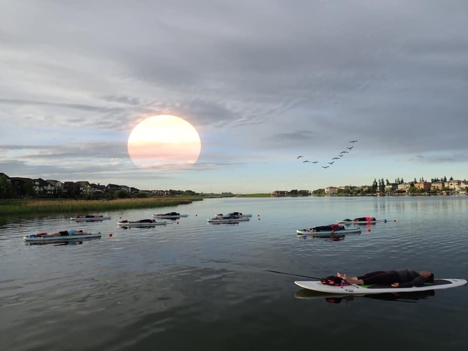 Sunset SUP Yoga Bliss