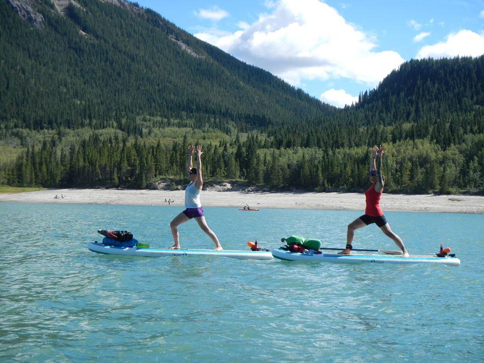 Mountain Yoga Session