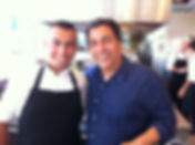 Chef Haim Cohen gives apprenticeship through the Mira Awad grant