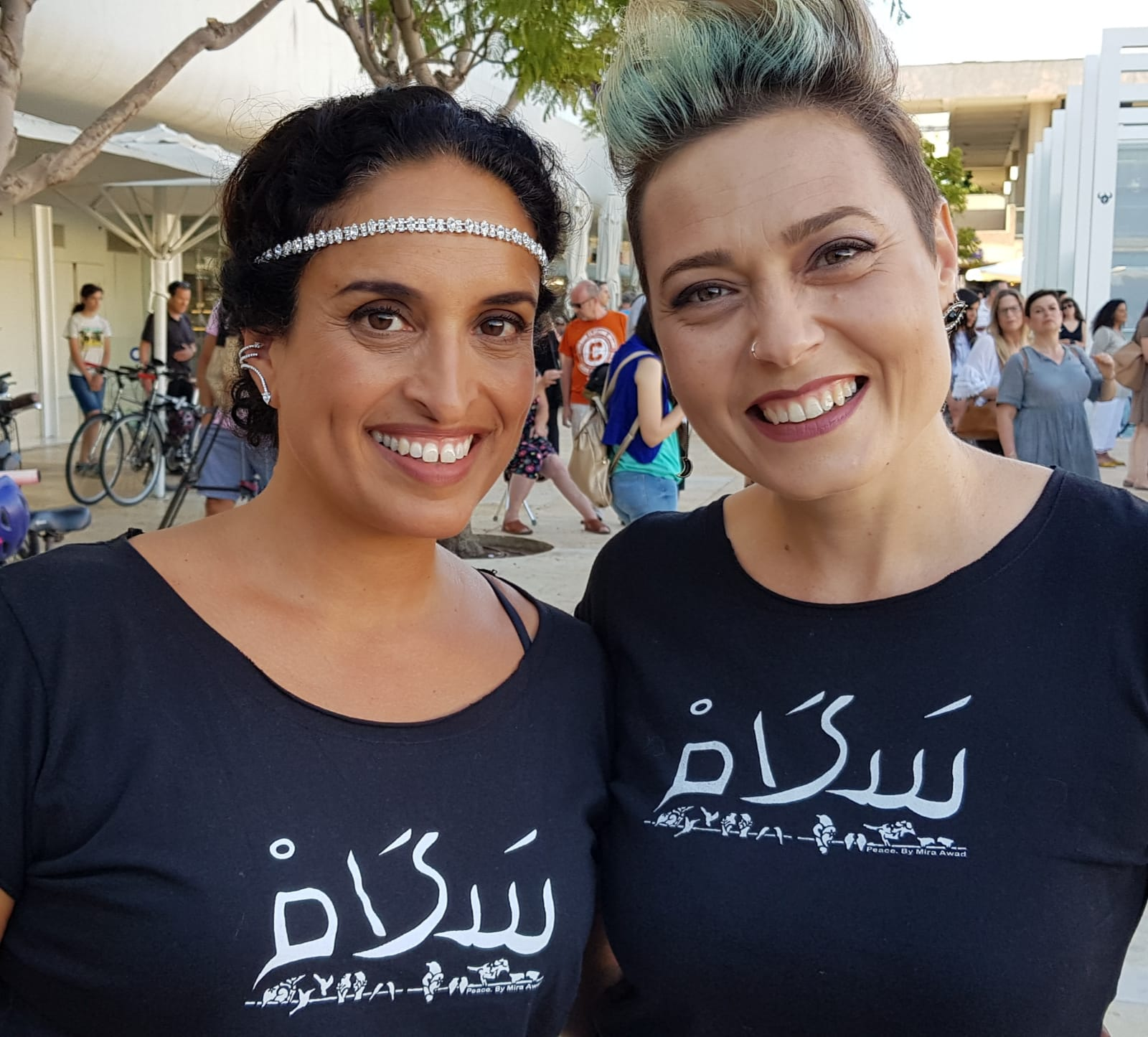 Noa (Achinoam Nini) & Mira Awad