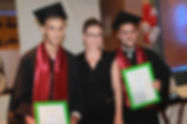 Mira Awad gives out two yearly grants to high school graduates in her hometown Rama