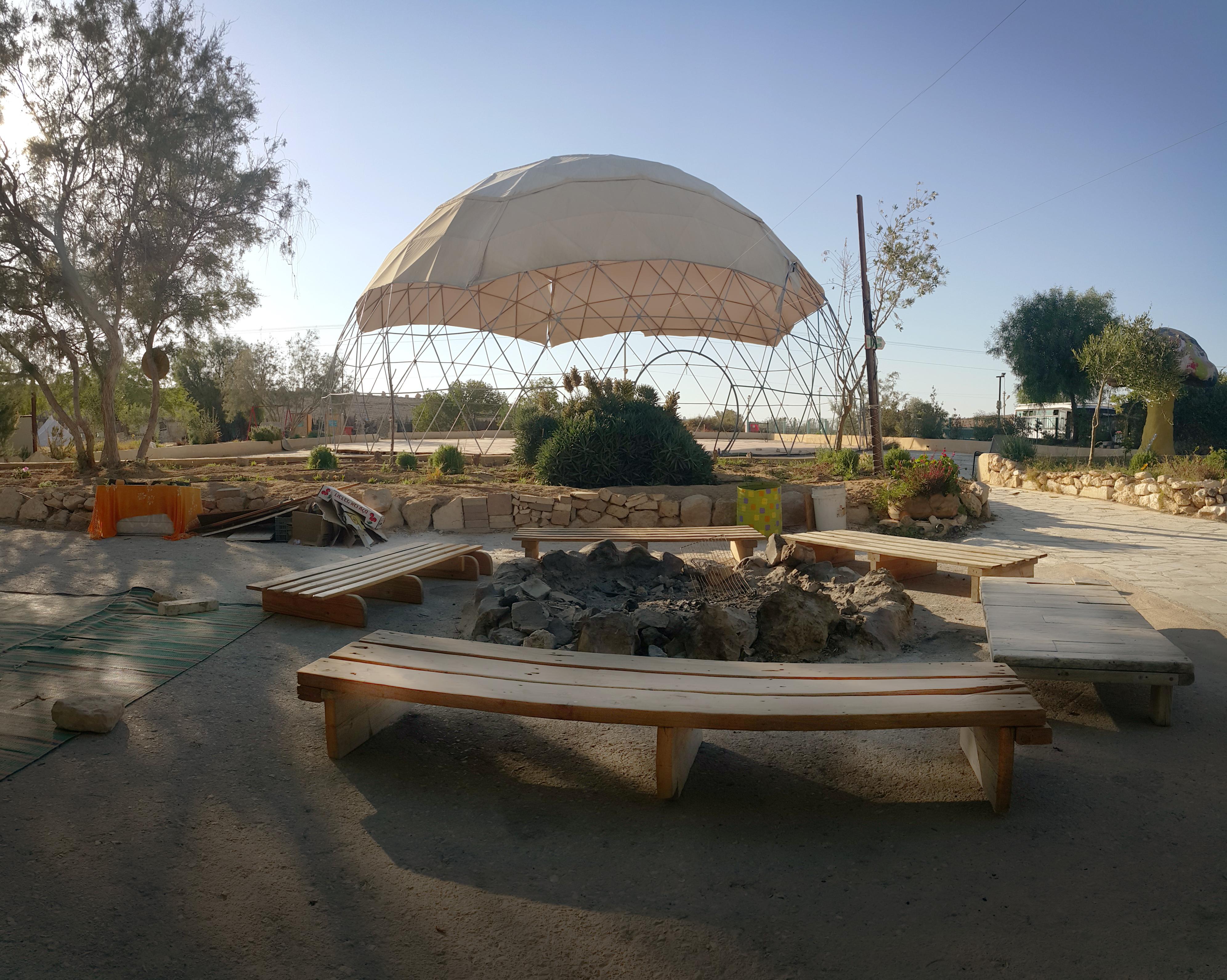 Dome- מתחם מעבר