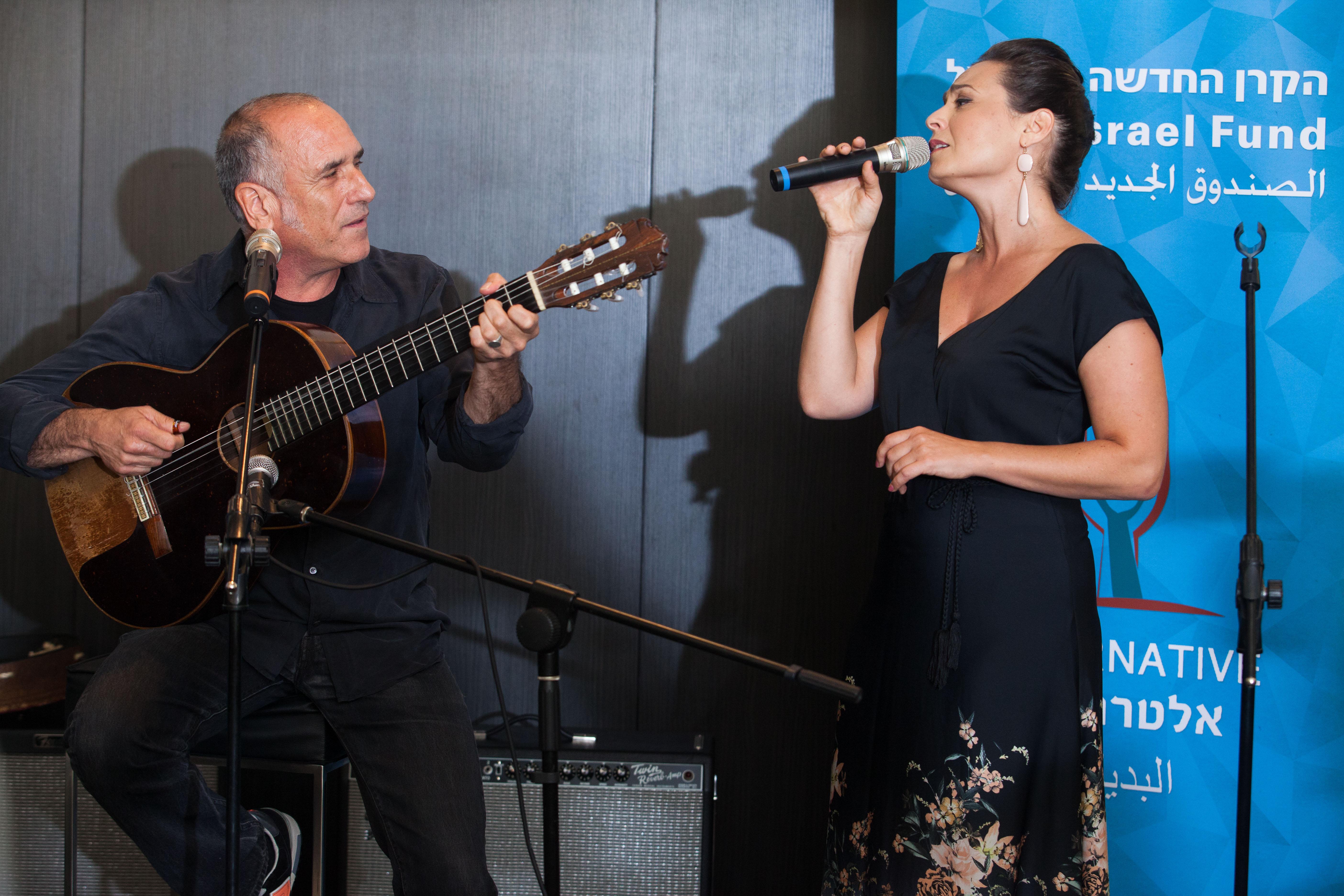 David Broza and Mira Awad