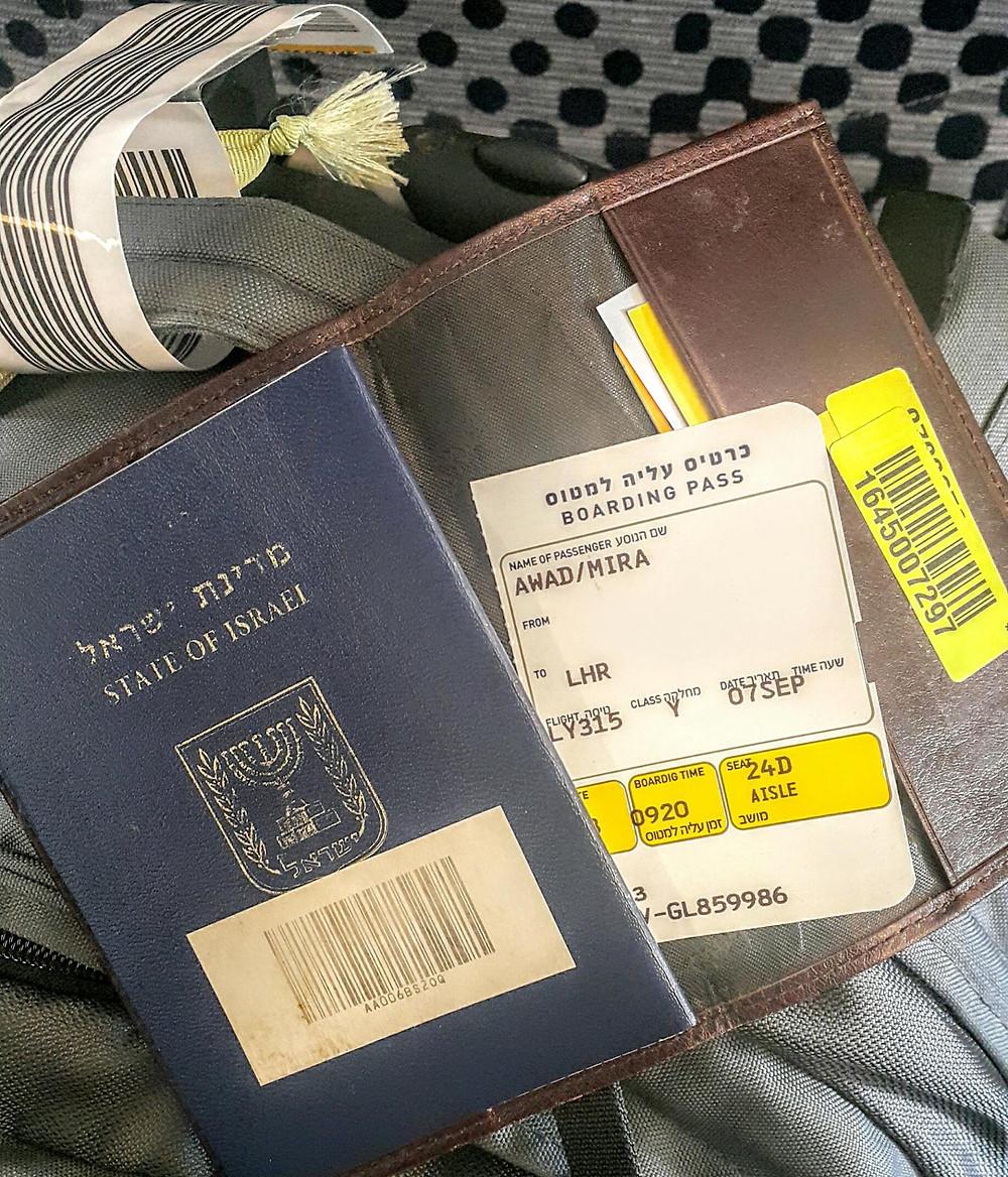 Mira Awad - Ben Gurion airport