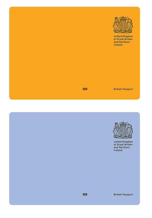 Brexit passport cover