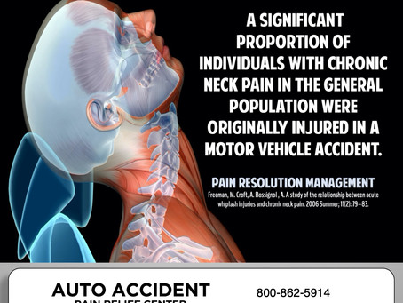 Have you been in an accident ?
