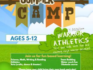 Summer Camp - Warrior Athletics