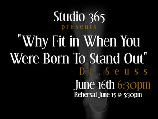 """""""Why Fit in When You Were Born To Stand Out"""""""