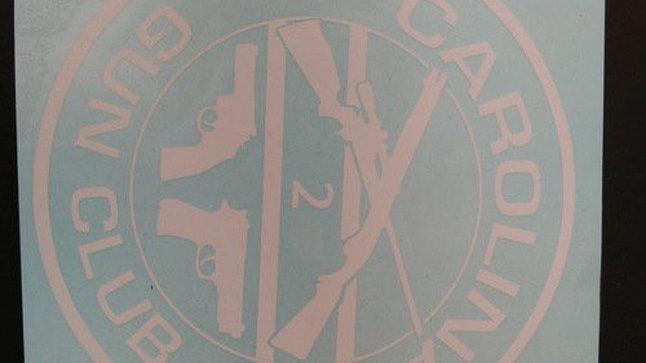 Carolina Gun Club Logo Sticker