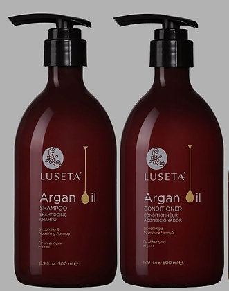 Luseta Argan Oil Shampoo and Conditioner 16.9 oz