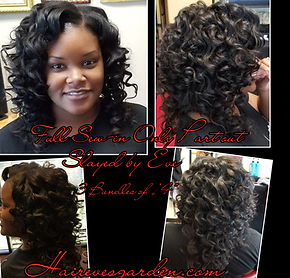 traditional sew-In