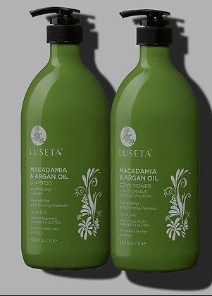 Macadamia & Argan oil Shampoo and Conditioner 16.9 oz