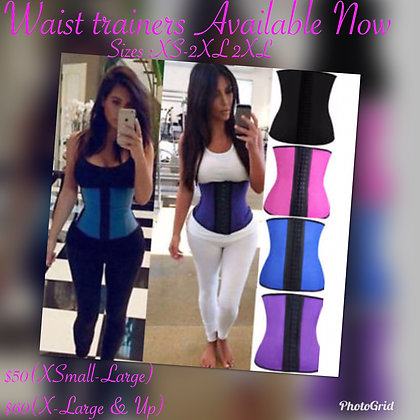 Waist trainers x-small-2xL