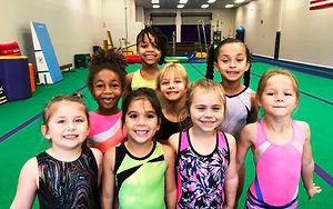 sunny gymnastics girls team