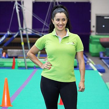 Sunny Gymnastics Coach Marcela Otalora