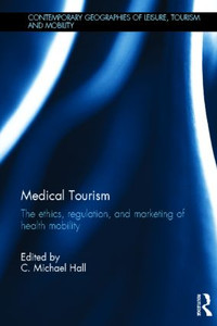 "Ormond, M. (2012) 'Claiming ""cultural competence"": The promotion of multi-ethnic Malaysia as a medical tourism destination', in C.M. Hall (ed.), Medical Tourism: The Ethics, Regulation, and Marketing of Health Mobility, Abingdon: Routledge, 187-200."