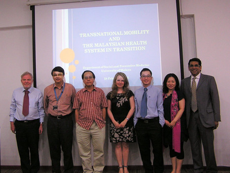 2012 Transnational Health Care and the Malaysian Health System in Transition conference, Kuala Lumpur, Malaysia