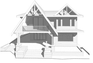 Custom A-Frame Home