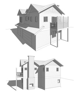 Backyard Suite, Custom, Traditional