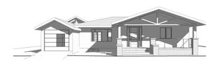 Attached Garage + Porch