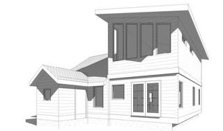Modern Second Floor Addition