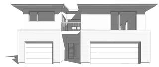 Contemporary Backyard Suite