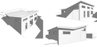 Garden Suite, Modern, Vaulted