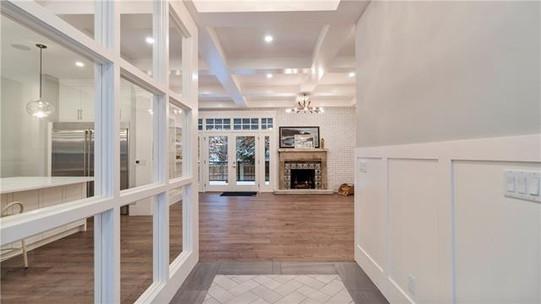 Foyer + Living Room