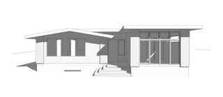 Front Addition, Flat Roof