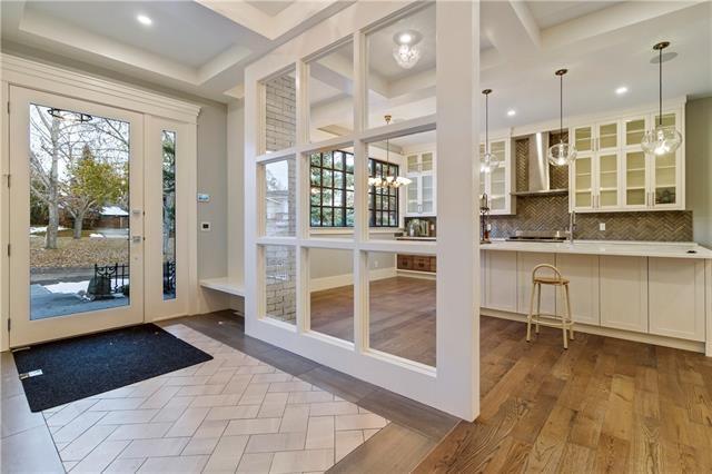 Foyer + Kitchen