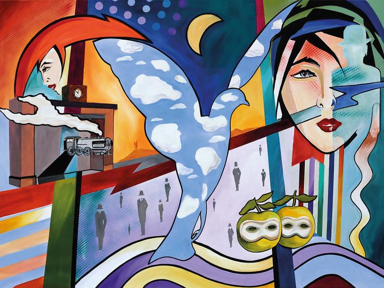 Zeit mit Magritte