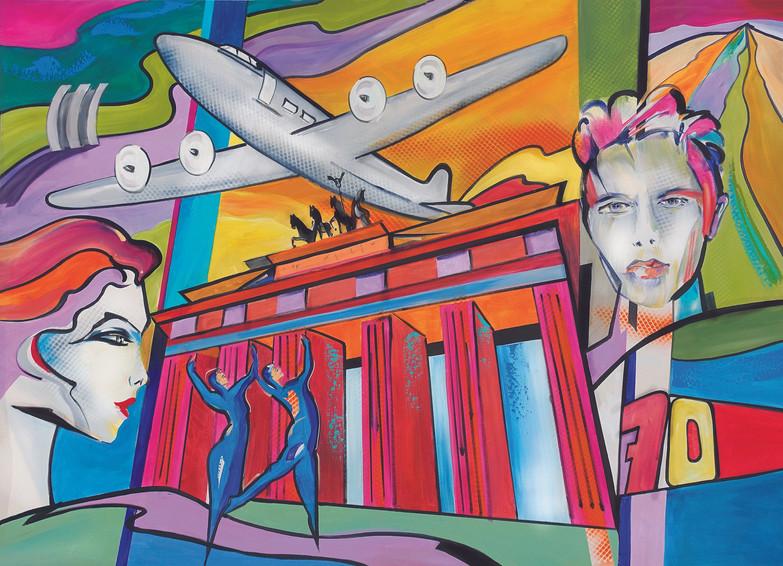 70jährige Geschichten- David Bowie- Berliner Luftbrücke