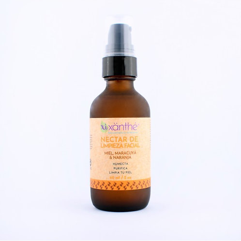 Néctar de Limpieza Facial Miel, Maracuyá y Naranja