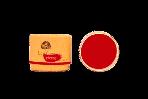 Bálsamo Lip & Cheek INTENSE - Color Rojo -