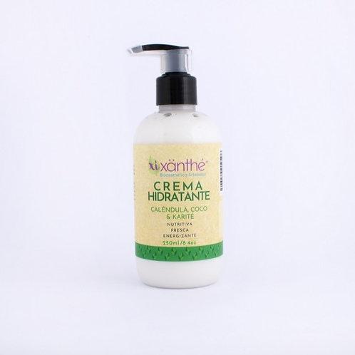 Crema hidratante Caléndula, Coco y Karité