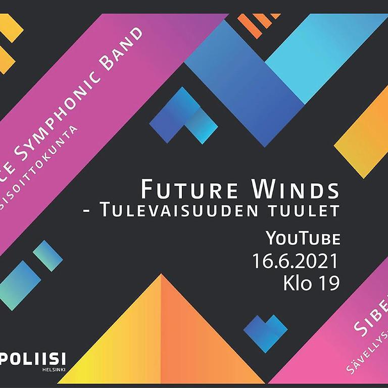 """First performance of """"Virynttäytymistä"""" for Symphonic Wind Band"""