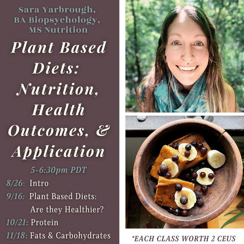 Plant-Based Nutrition: Health Outcomes & Application with Sara Yarbrough!